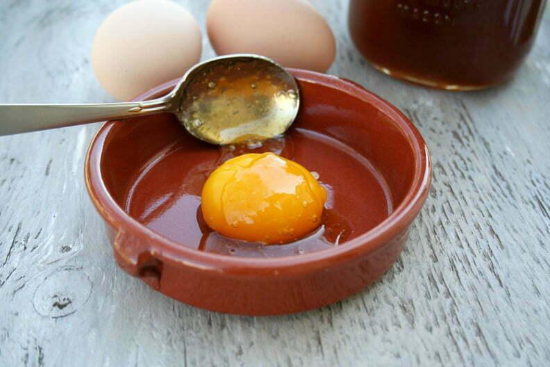 mascarilla de huevo para el cabello