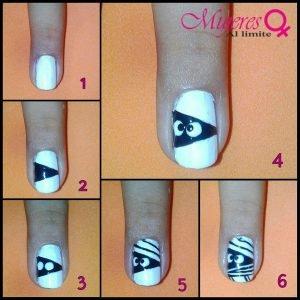diseño de uñas fácil